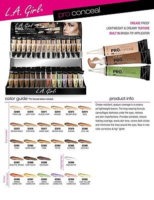 L.A. LA Girl Pro Conceal High Definition Concealer & Corrector *FREE SHIPPING*