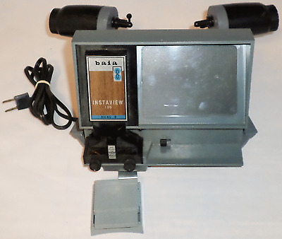 Vintage BAIA INSTAVIEW 120  8mm & Super 8mm Film Viewer - Splicer