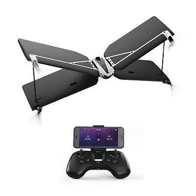 Parrot Swing Quadcopter Camera Drone with Plane Mode + Flypad Controller
