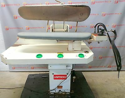 Unipress 45LX Laundry Lay Down Body Press Dry Cleaning Iron Phase 1 Steam