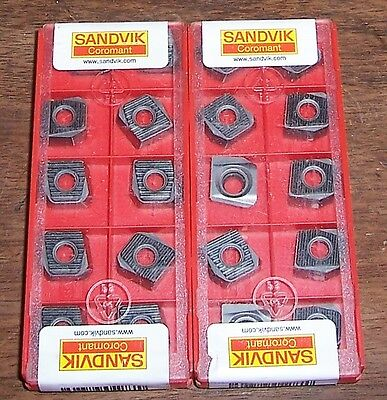 Sandvik Coromant R590-110504H NW Carbide Inserts 20 Pieces Factory Sealed