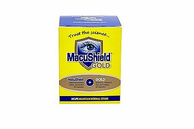 Macushield Gold Food Supplement - Pack of 90 Capsules only