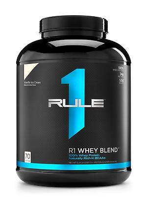 R1 Rule One Proteins - R1 Whey Blend 100% Whey Protein 5lb - 70 Servings