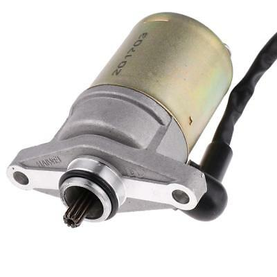 Pre-wired 12V 10 Teeth Starter Motor for GY6 47cc 49cc 50cc Scooter ATVs