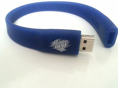Mountain Dew VOLTAGE Promotional Wrist Band FLASH DRIVE 1 GB