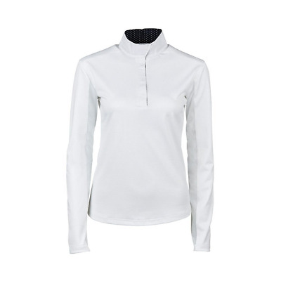 Dublin Airflow CDT Womens Long Sleeve Competition Top - White