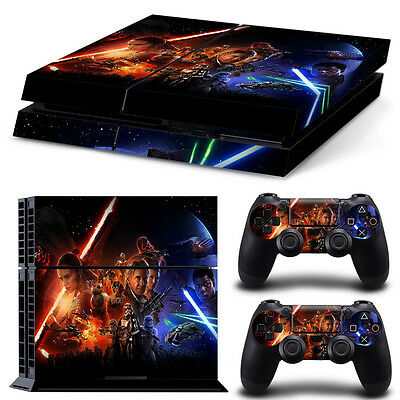 Star Wars Force Awakens PS4 Playstation 4 Decal Skin Sticker NEW