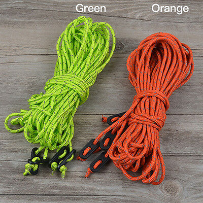16M Multifunctional Tent Rope Reflective Outdoor Sports Camping Hiking Nylon Y5