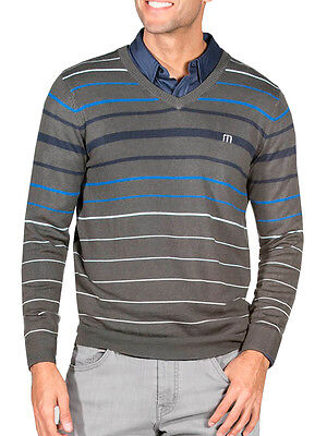 Travis Mathew Whitehall Sweater - Magnet