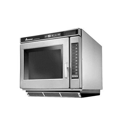 Amana RC30S2 Commercial 1 CuFt Microwave Oven Programmable S/s 3000w