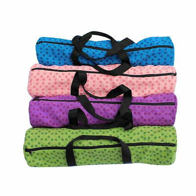 4 Colors Portable Waterproof Yoga Pilates Mat Case Bag Backpack Exercise Fitness