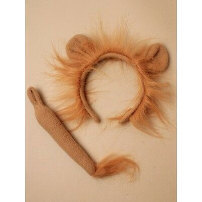 Lion Ears Headband And Tail Set - Hen Night Fancy Dress Party Costume