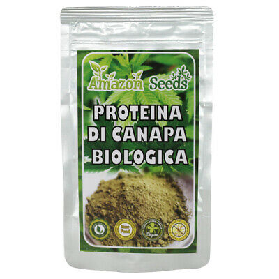 Amazon Seeds Proteine Di Canapa Biologica 250 Gr