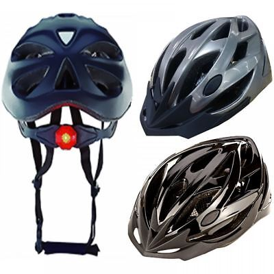 Prophete Adult Bike Safety Helmet For Cycle Skate Bicycle With Led Light 0958