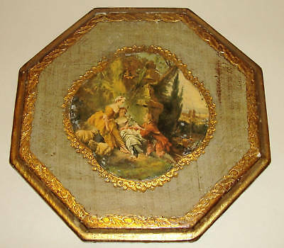 An Old Italian Florentine Gilt Wooden Picture - Classical