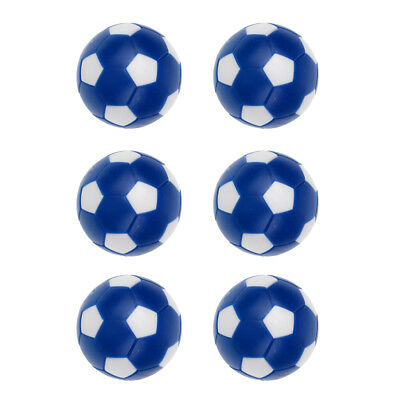 6 Pack 36mm Foosball Balls Fussball Ball Replacements for Soccer Table Game
