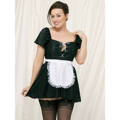 Classified Plus Size French Maid Outfit