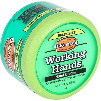 O'Keeffe's Working Hands Cream 193g Extremely Dry Cracked Split Hand Big Jar Pot