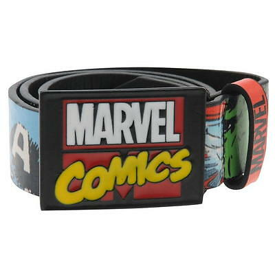 Disney Marvel Comics Superhero Boys Childrens Kids Trousers Belt Accessories