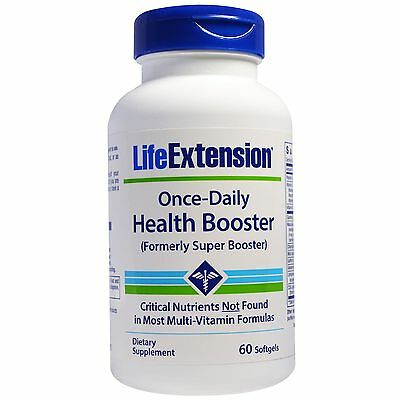 Life Extension, Once-Daily Health Booster, 60 Weichkapseln