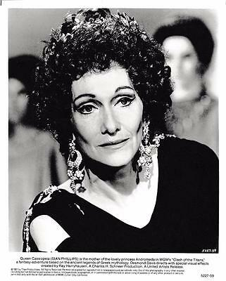 "Sian Phillips ""Clash of the Titans"" 1981 Vintage Still"