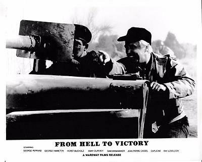 "George Peppard, George Hamilton ""From Hell to Victory"" Vintage Still"