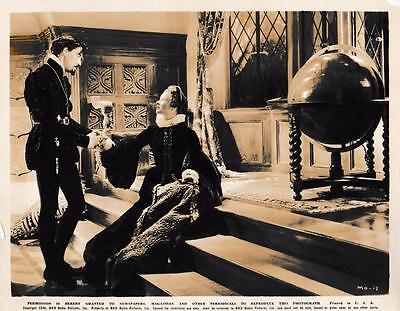 "John Carradine, Katherine Hepburn ""Mary of Scotland"" Vintage Still 1938"