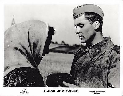 """Ballad of a Solider""  Vintage Still 1959"