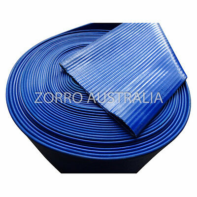NEW Blue Lay Flat Hose Water Delivery (Available Various Sizes)