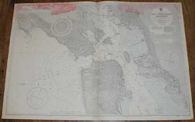 Nautical Chart No. 1227 United States - West Coast, San Francisco Harbour 1960