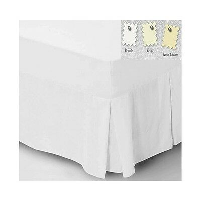 Charlotte Thomas Percale Plain Fitted Valance Sheet