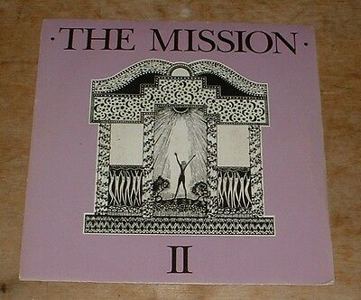 THE MISSION garden of delight*like a hurricane 1986 UK CHAPTER 22 PS 45