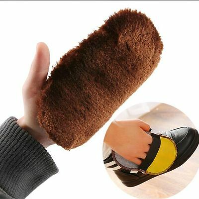 Cleaning Gloves For Leather Shoes Bags Sofa Cleaning Polishing Shoe Care Brush