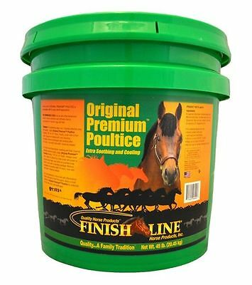 ORIGINAL PREMIUM POULTICE Soothing Cooling Soreness 23 Pounds Equine Horse