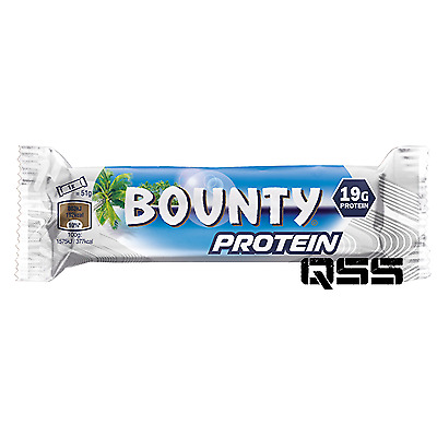 BOUNTY PROTEIN BARS 51g x 18 - HIGH QUALITY PROTEIN BAR BOUNTY PROTEIN BAR