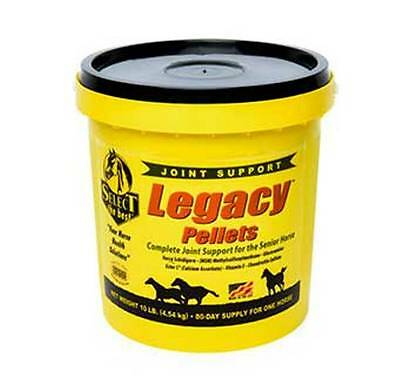 Legacy Pellets 10 Pounds Senior Equine Horse Joint Support Supplement