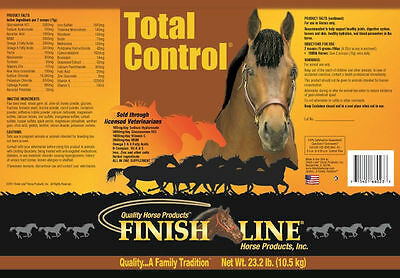 TOTAL CONTROL 140 Day Supply All in One Daily Supplement Equine Horse 23.2#