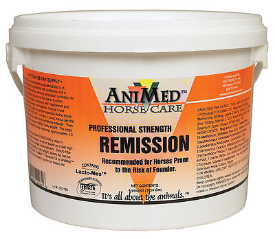 Animed Remission Powder Hoof Supplement Equine Horse 4 Pounds Granules