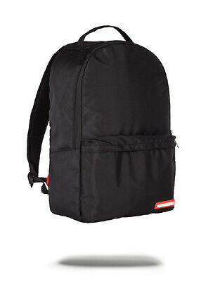 Sprayground Black Transporter Backpack Smell Proof Compartment School Bag NEW