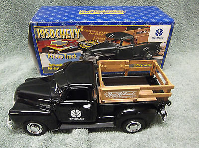 Ertl 1960 Chevy 3100 Pick Up New Holland 1/25 Scale Coin Bank