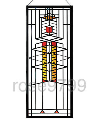 Frank Lloyd Wright - Robie Window Stained Glass