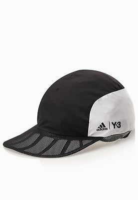 Adidas Y3 Roland Garros Player Cap in Black & White S27048
