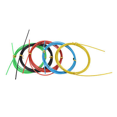 Colorful Crossfit Replaceable Wire Cable Speed Jump Ropes Skipping Rope ab