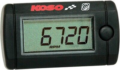 Koso North America LCD Mini Tachometer For Motorcycles ATV UTV