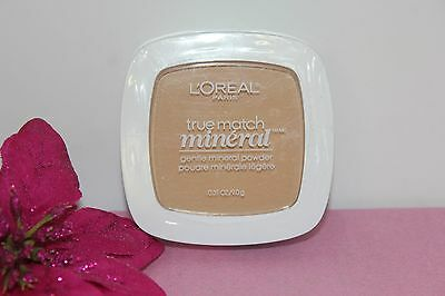 "L'oreal True Match Gentle Mineral Powder ""natural Buff"" 0.31 Oz Sealed!"