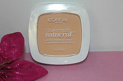 "L'oreal True Match Gentle Mineral Powder ""nude Beige"" 0.31 Oz Sealed!"