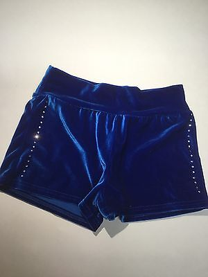 Motionwear Leotard Shorts BlueVelvet Large Child