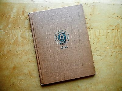 OAKLEY COUNTRY CLUB: GOLF MEMBER DIRECTORY/YEARBOOK 1902 DONALD ROSS Memorabilia