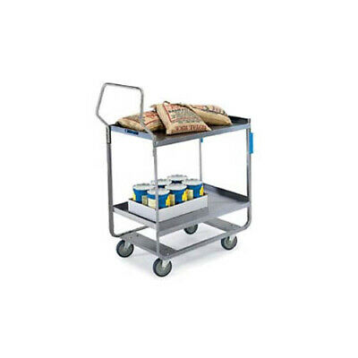 "Lakeside 4511 16-1/4""x30""x46-1/4"" Handler Heavy Duty Utility Cart"