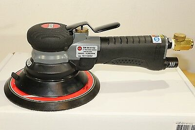 "Suntech Pneumatic Air 6"" One or Two Hand Random Orbital Palm Sander 3/16"" Orbit"